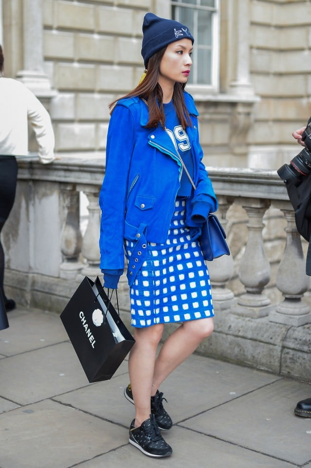 Lfw Street Style Day Five Best Street Style At London Fashion Week Fall 2014 Popsugar