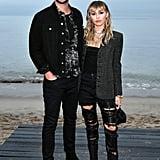 Miley Cyrus and Liam Hemsworth in Malibu