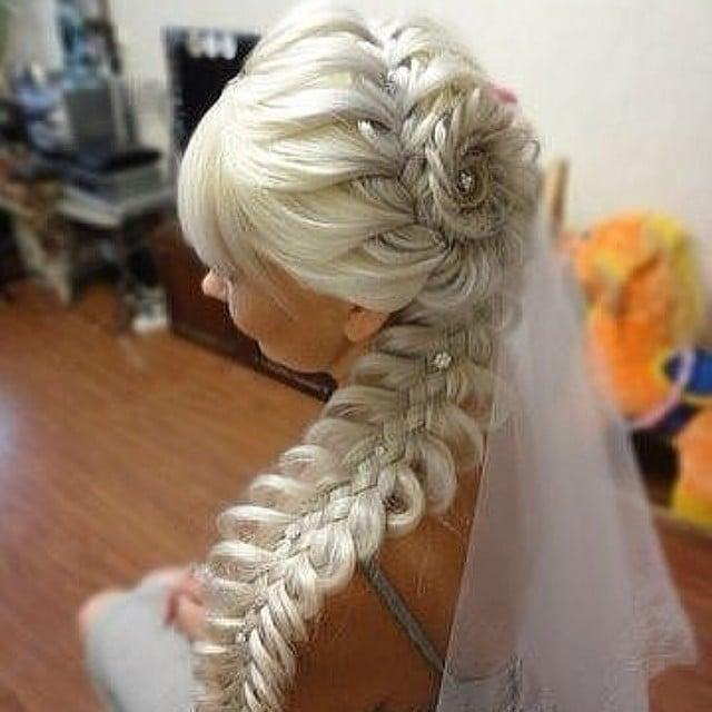 Intricate Bridal Braid