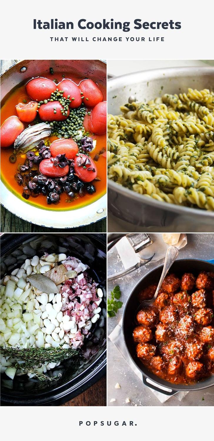 Italian Cooking Tips