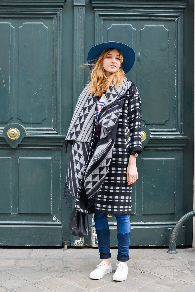 Layer With Heavy Knits