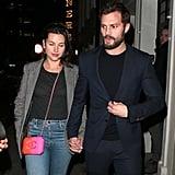 Jamie Dornan and Amelia Warner Out in London Jan. 2018