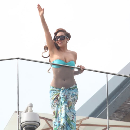 Lady Gaga Bikini Pictures in Brazil