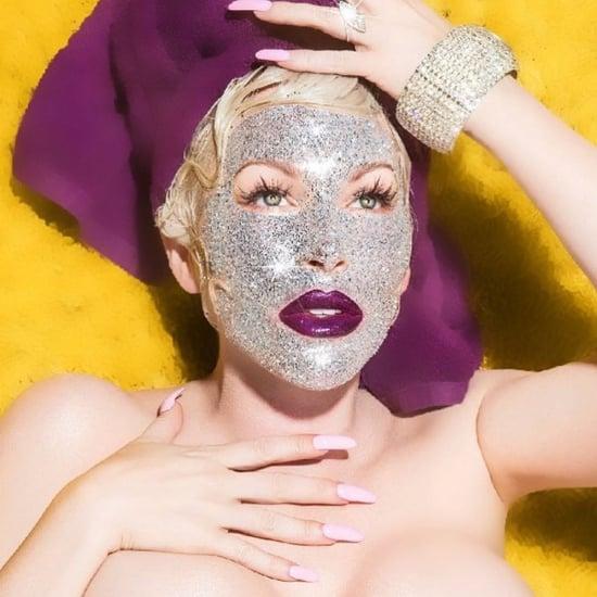 Glitter Face Mask | Joyce Bonelli Kardashian Makeup Artist