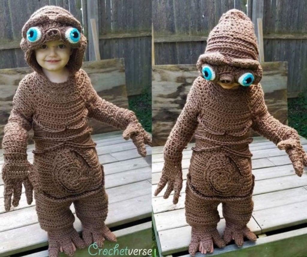 Mom Crochets Halloween Costumes
