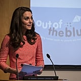 Kate Middleton at Royal College in London March 2017