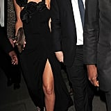 Sarah Harding Celebrates Her Engagement With Famous Friends