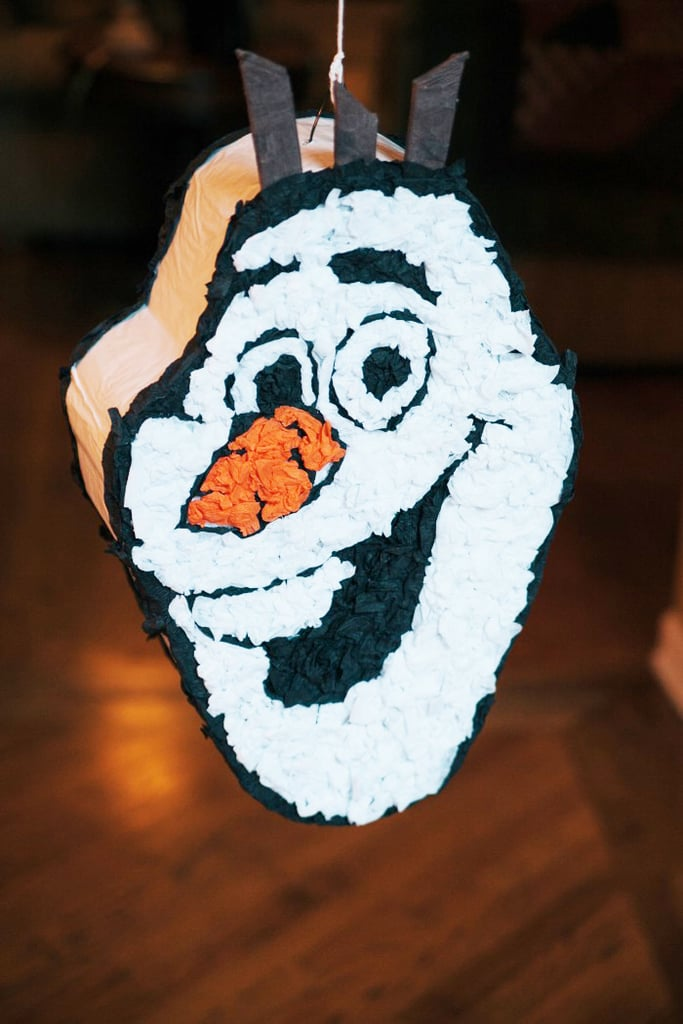 This Olaf piñata came from an Etsy party supplies vendor, and it added an adorable touch to everybody's favorite snowman!