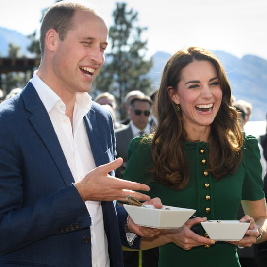 Duke and Duchess of Cambridge Laughing on Tour 2016