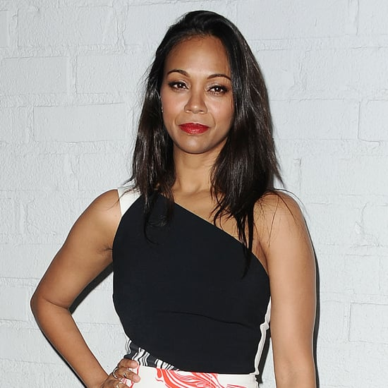 Zoe Saldana's Fitness Advice For New Moms