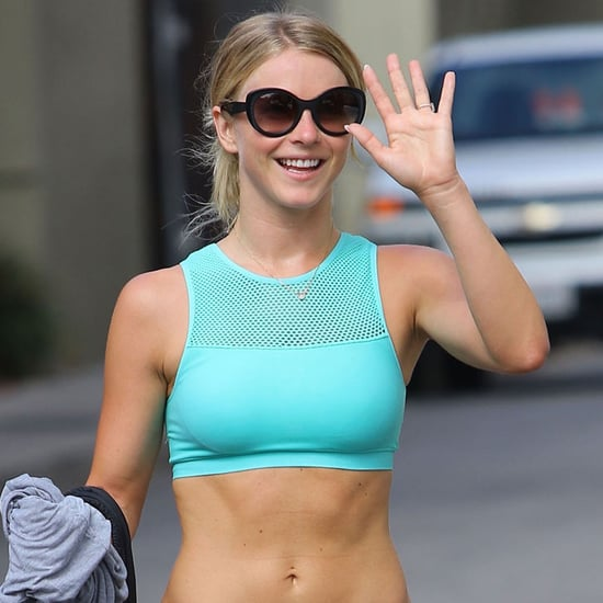 Julianne Hough Shows Off Abs in LA August 2016