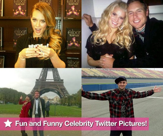 Fun and Funny Celebrity Twitter Pictures 2010-10-21 09:15:05