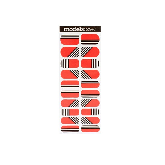 Models Own Wah Nail Transfers in Stripes, approx $11.90