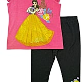 Disney By Okie Dokie 2-pc. Beauty and the Beast Legging Set ($20, originally $36)