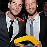 Liam and Chris linked up after Chris won the Australians in Film breakthrough award in May 2010.
