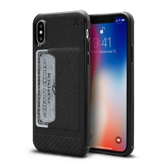 buy popular fabd4 0cca5 Casetify Essential Woven Card Case | Best iPhone X Phone Cases 2018 ...