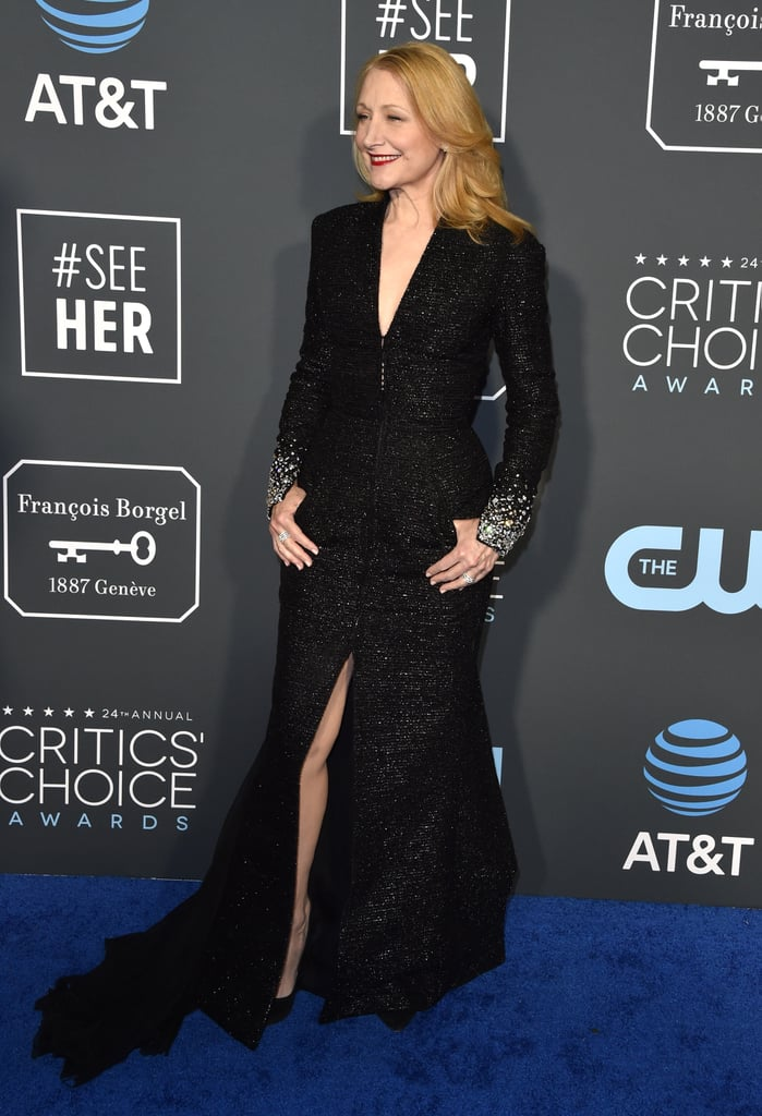 Patricia Clarkson at the 2019 Critics' Choice Awards