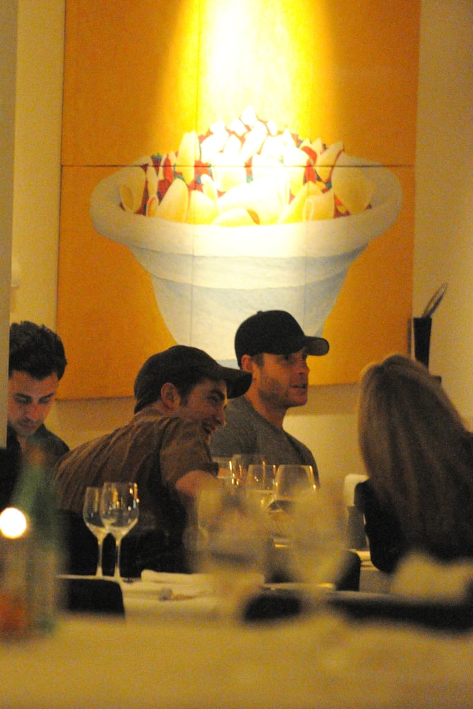 Robert Pattinson Pictures at Dinner in Berlin