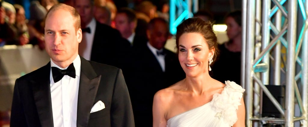 Prince William and Kate Middleton at the BAFTA Awards 2019