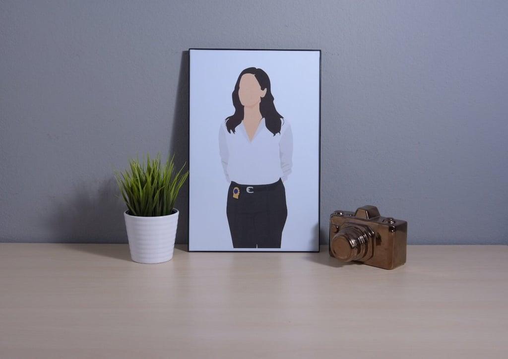 Amy Santiago Minimalist Poster