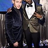 Pictured: Nick Jonas and Jay Pharoah