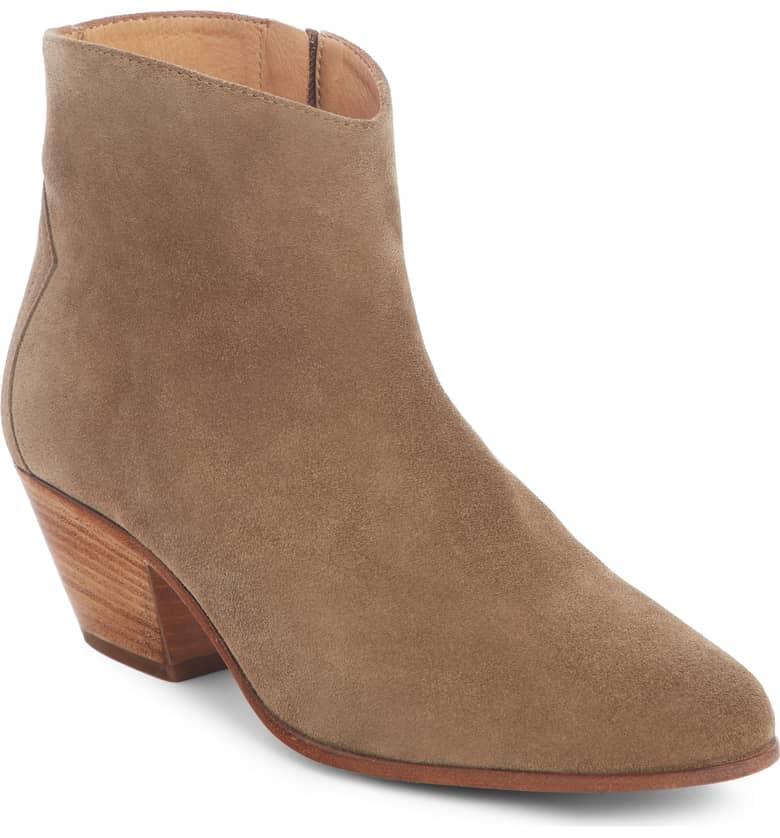 Isabel Marant Dacken Stacked Heel Booties