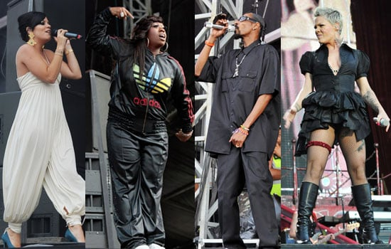 London's Wireless Festival includes Lily Allen, Snoop Dogg, Missy Elliott, Pink, Jay-Z, Beyonce and Madonna