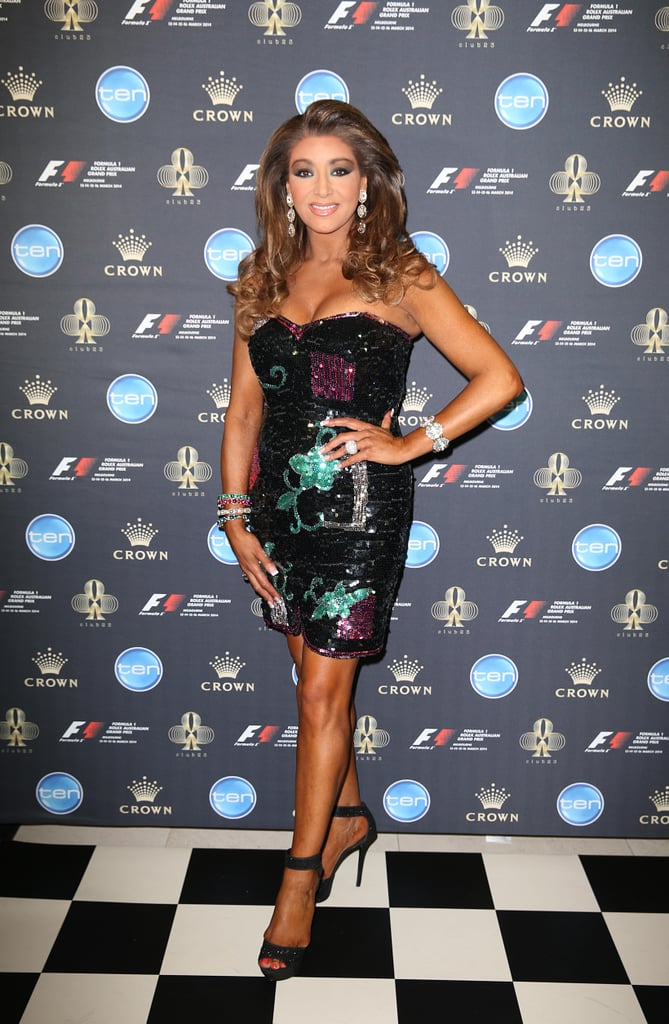 real housewives melbourne gina liano attended party stars step up
