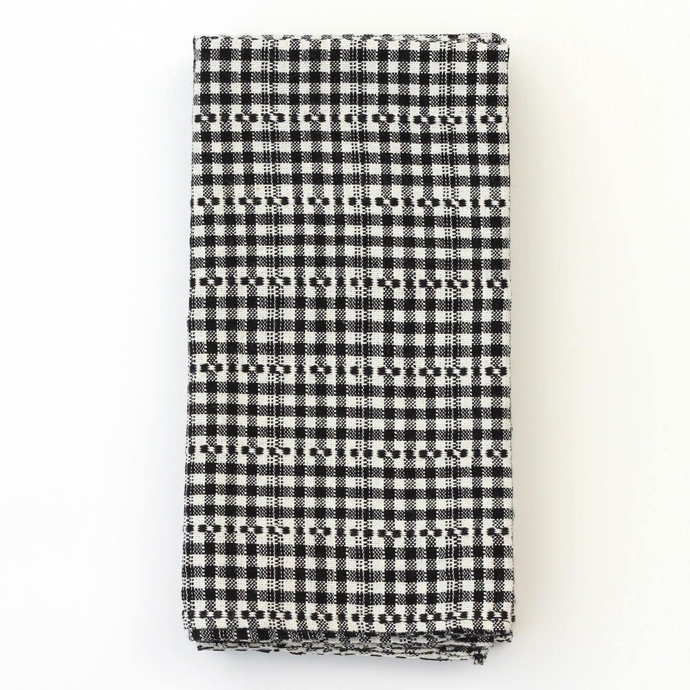 Update your table for warm weather with these chic yet unpretentious cotton check napkins ($79 for set of four). They're handwoven in Mexico, and with their black and white palette, they'll transition easily from a formal dinner to an upscale picnic.