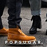 Ariana Grande and Pete Davidson Wearing Sweetener Merch 2018