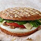 Turkey Sausage, Egg White & Spinach Breakfast Power Sandwich