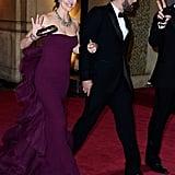 Ben Affleck and Jennifer Garner left the Oscars arm in arm.