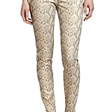 These Democracy snake-print jeggings ($68) are sure to get your gams noticed. Tame them with basic pieces — you don't want to create a fashion clash.