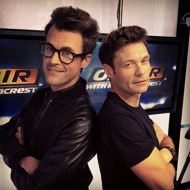 Ryan Seacrest and Brad Goreski got real. Source: Instagram user ryanseacrest