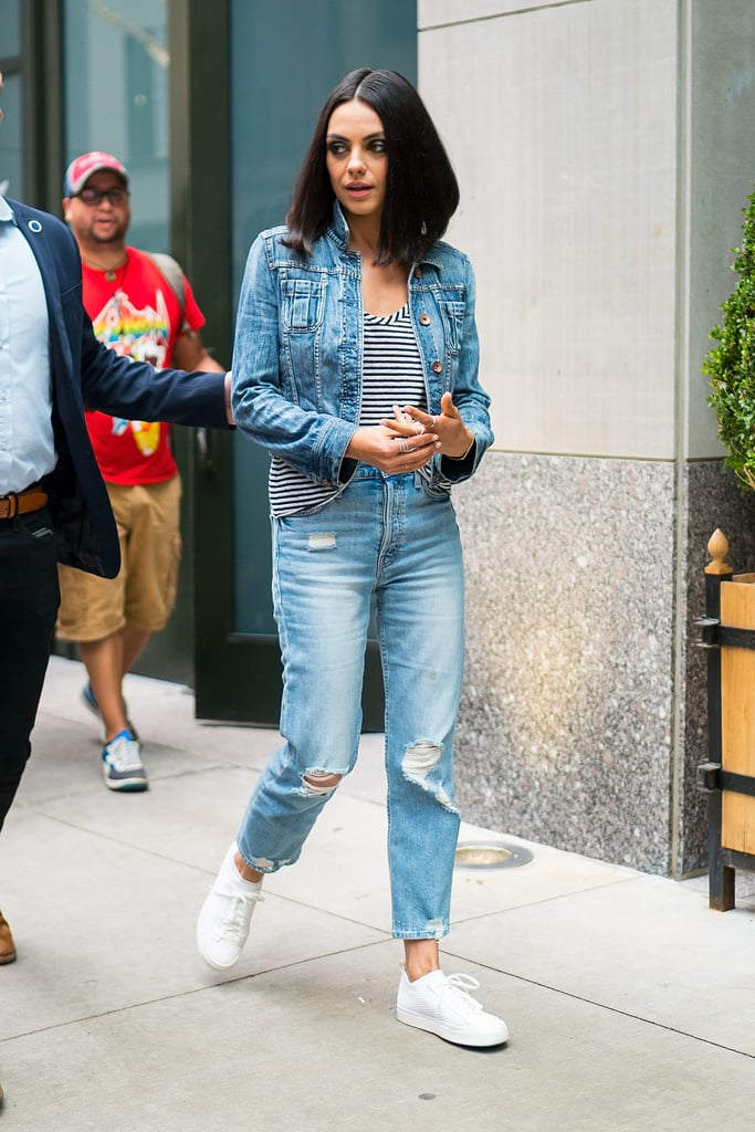 237c383b954 Celebrities in Jeans Fall 2018