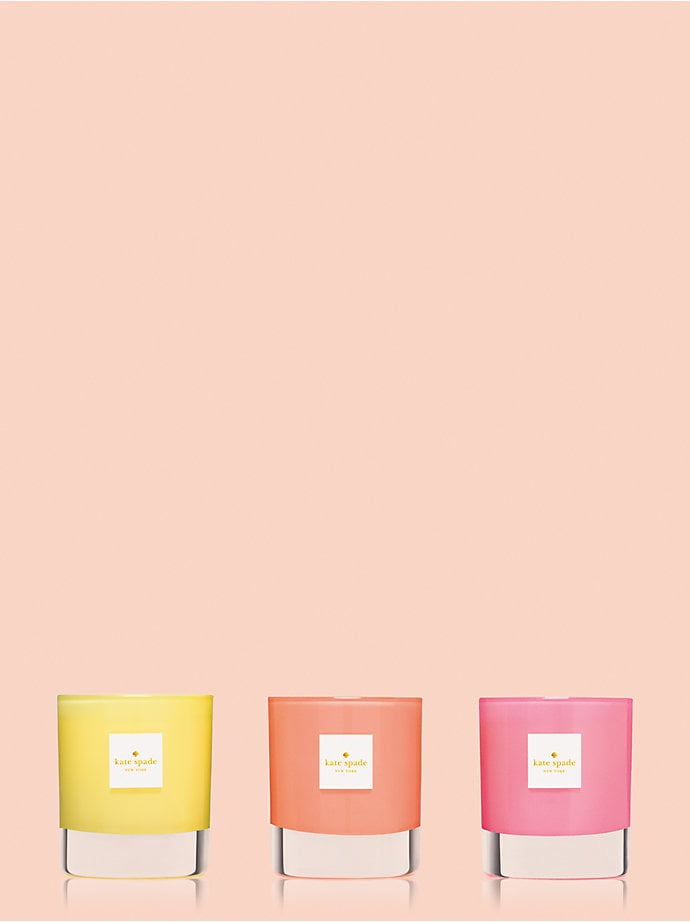 Live Colorfully Candle Trio ($45)