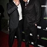 """Matt Damon = 5'10"""", Ben Affleck = 6'4"""""""