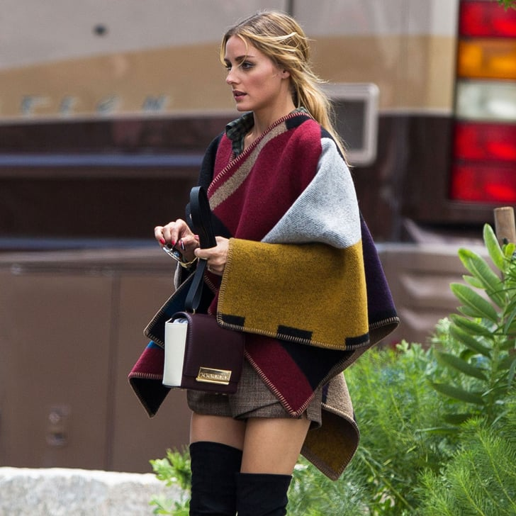 Ponchos Are Happening — Just Ask Olivia Palermo