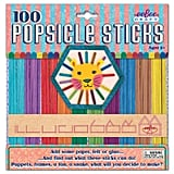 EeBoo Colored Popsicle Sticks