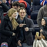 Jude Law With His Girlfriend and Daughter in NYC Dec. 2016