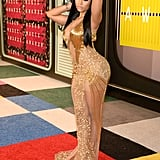 What Do You Think of Nicki's Sexy Gold Dress?