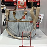 Skip Hop's limited-edition luxe French stripe diaper bag is already in stores.