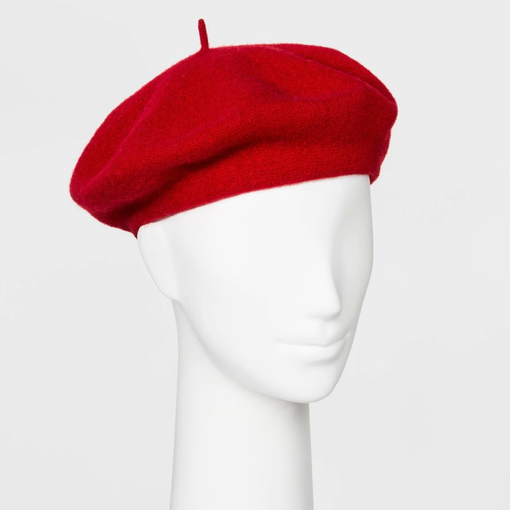 Women's Felt Beret Hat
