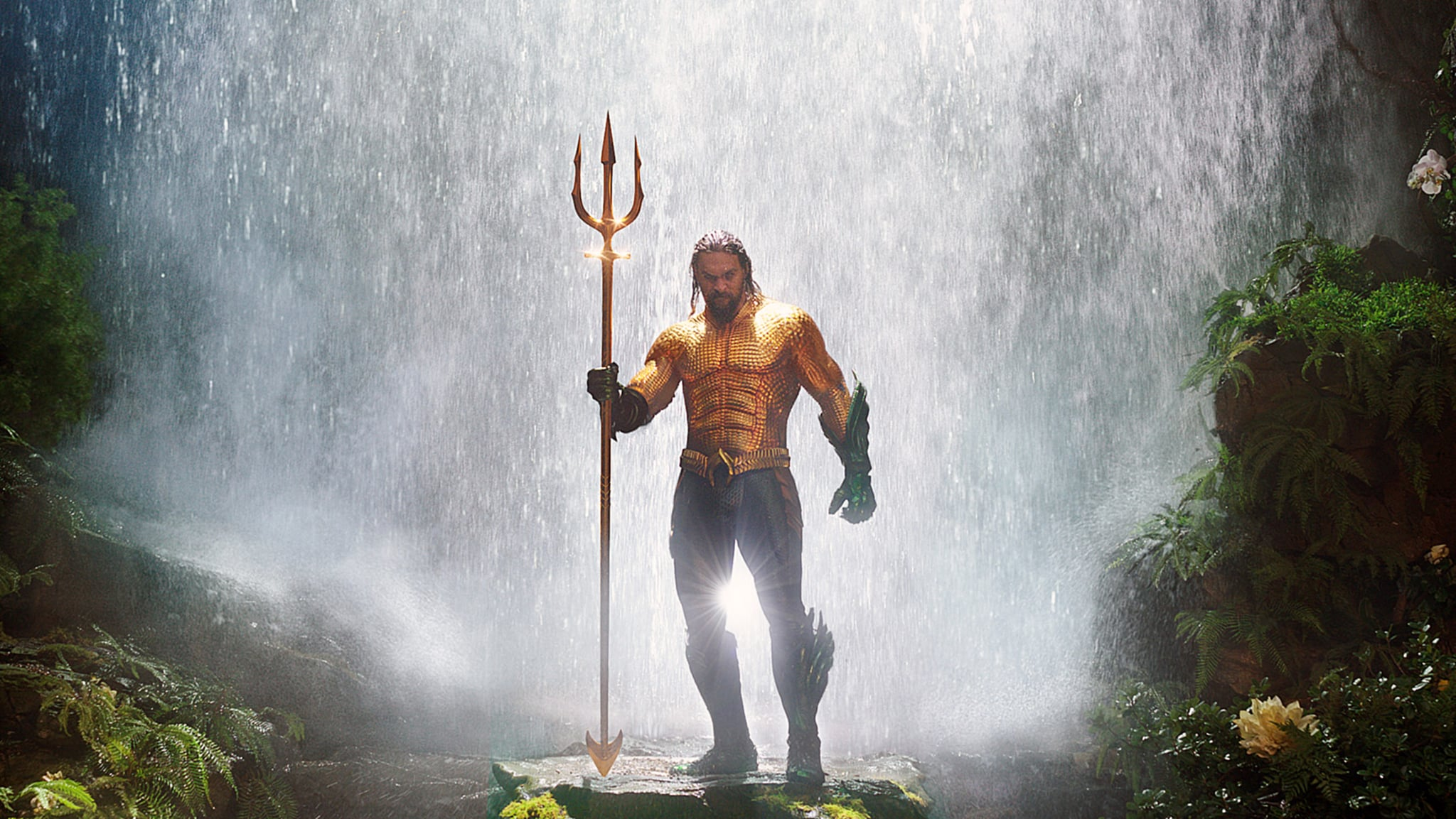AQUAMAN, Jason Momoa, 2018.  Warner Bros./courtesy Everett Collection