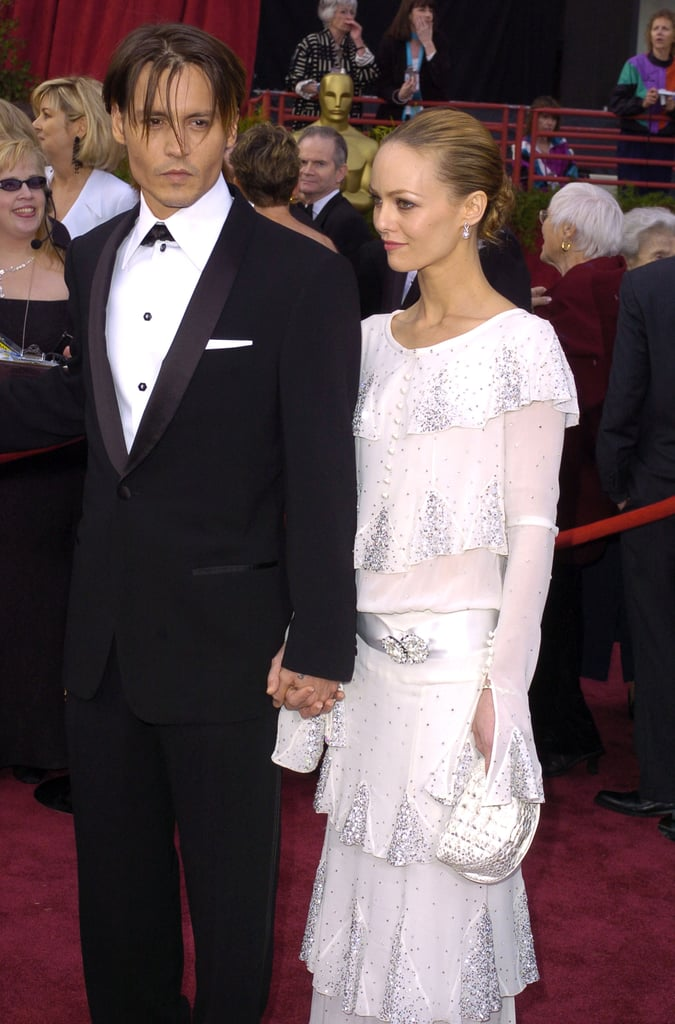 Johnny Depp brought Vanessa Paradis to the 2004 awards, at which he was a nominee for his work in Pirates of the Caribbean: The Curse of the Black Pearl. It was the first of his three nominations, though he has yet to win.