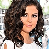 Selena Gomez's Curly Lob