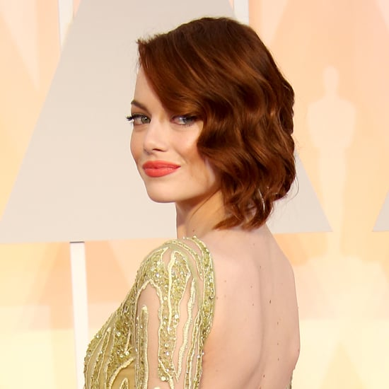 Emma Stone Red Carpet Dresses 2015