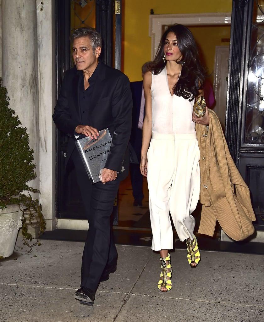 Amal Clooney Affordable Outfits Popsugar Fashion
