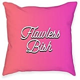 "Broad City ""Flawless Bish"" Square Throw Pillow"
