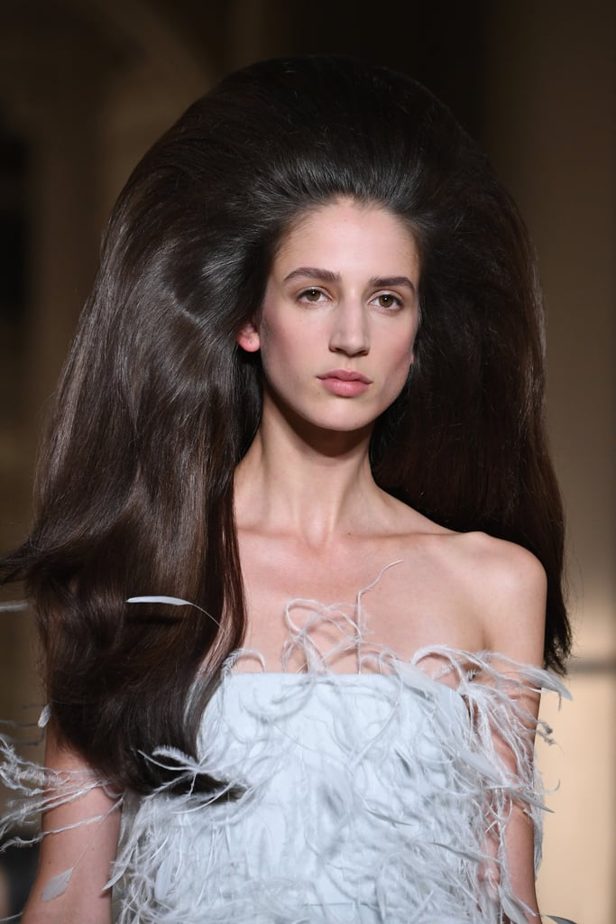 Kaia Gerber's Hair at Valentino Paris Couture Fashion Week